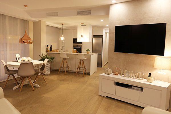 Reforma integral piso de 1 dormitorio en Santa pola