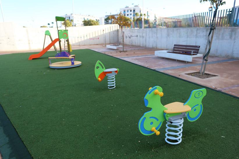Zona Juegos Infantiles Parque Sorolla