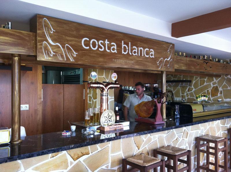 Reforma Restaurante Costa Blanca